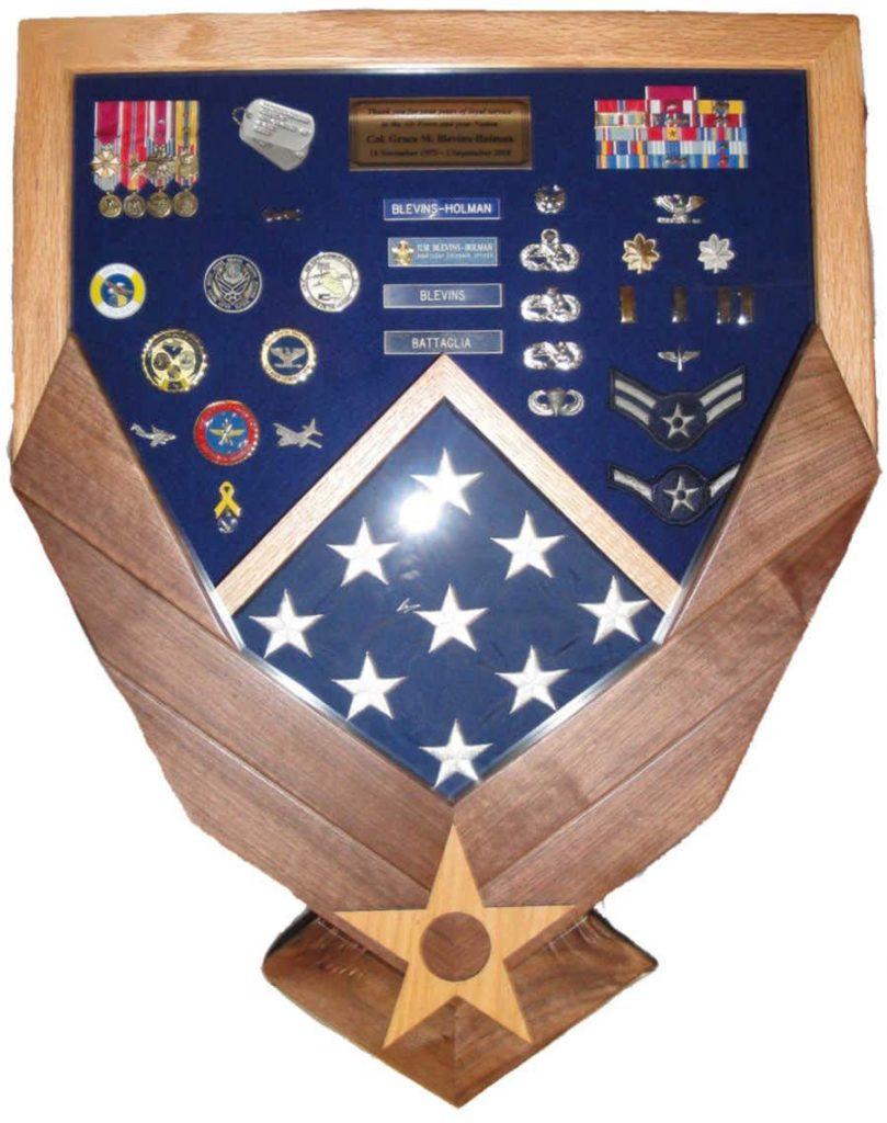Air Force Shadow Box