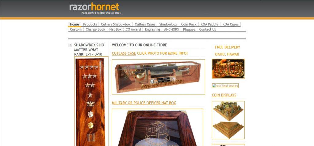 www.razorhornet.com