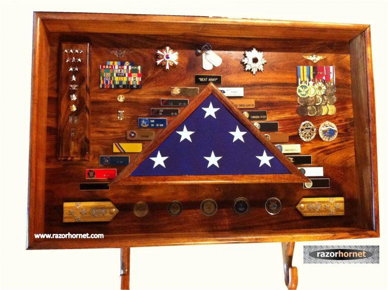 Admiral Willard Shadow Box